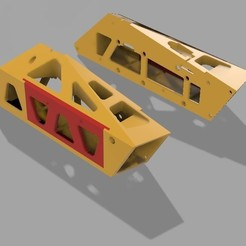 3D printing model Chassis 6s Replacement Battery Boxes, MaDdIaBlO