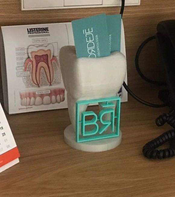 MUELA 1.jpg Télécharger fichier STL gratuit Dentiste titulaire de la carte • Plan pour impression 3D, DanielGimenezFosch
