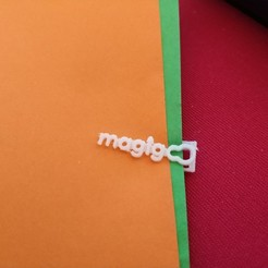 Free 3D printer designs Magicoo Clip, DanielGimenezFosch