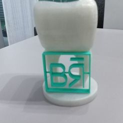 Descargar Modelos 3D para imprimir gratis Tarjetero dentista, DanielGimenezFosch