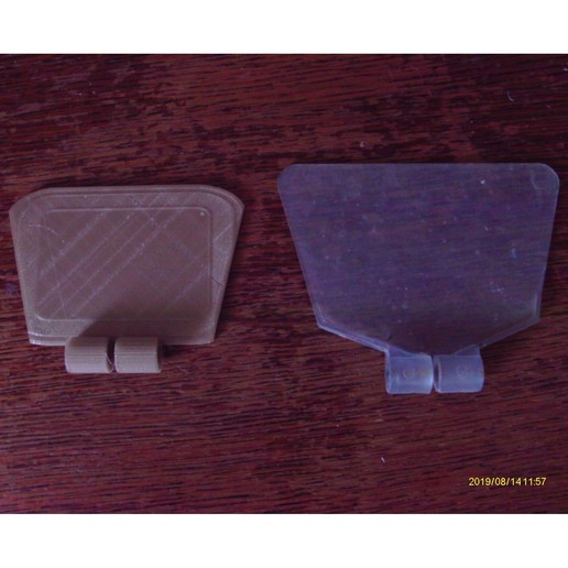 Télécharger fichier impression 3D gratuit Ecran de protection pour touret à meuler, Jicede71