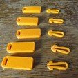 Download free 3D printing models zipper, Jicede71