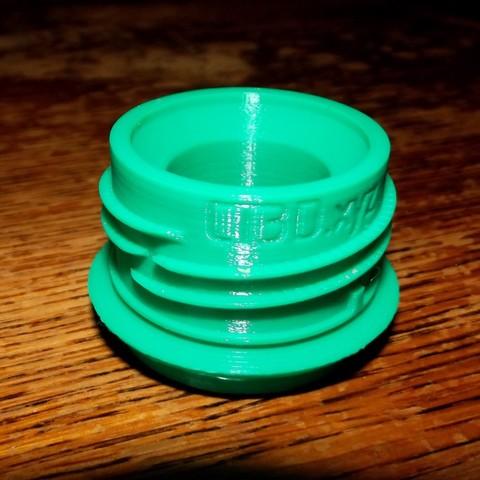 Descargar archivos 3D gratis Botellas de PET Máquina espumoso para adaptarse, Jicede71