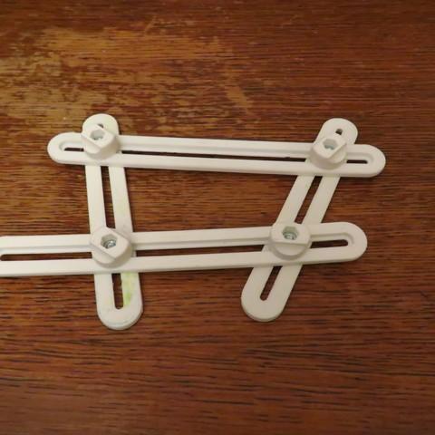 Plan 3D gratuit équerre pliable, Jicede71