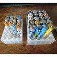 Download free STL file Battery storage box, Jicede71