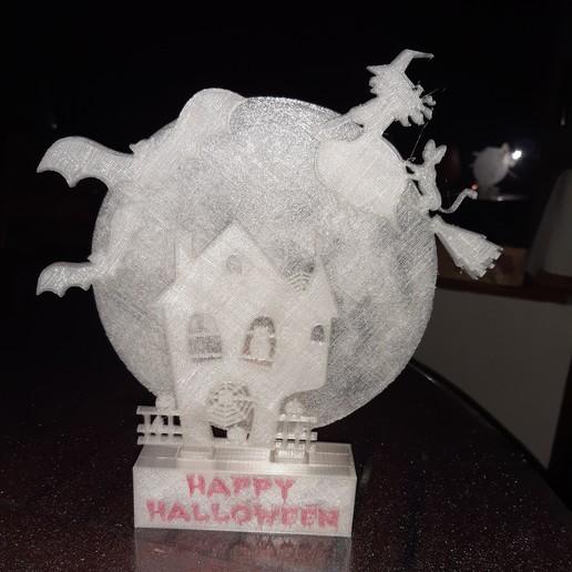 Download free STL files Happy Halloween, Jicede71