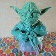 Download free STL file Standing Yoda Figure - Piggy Bank • 3D printable design, Jicede71