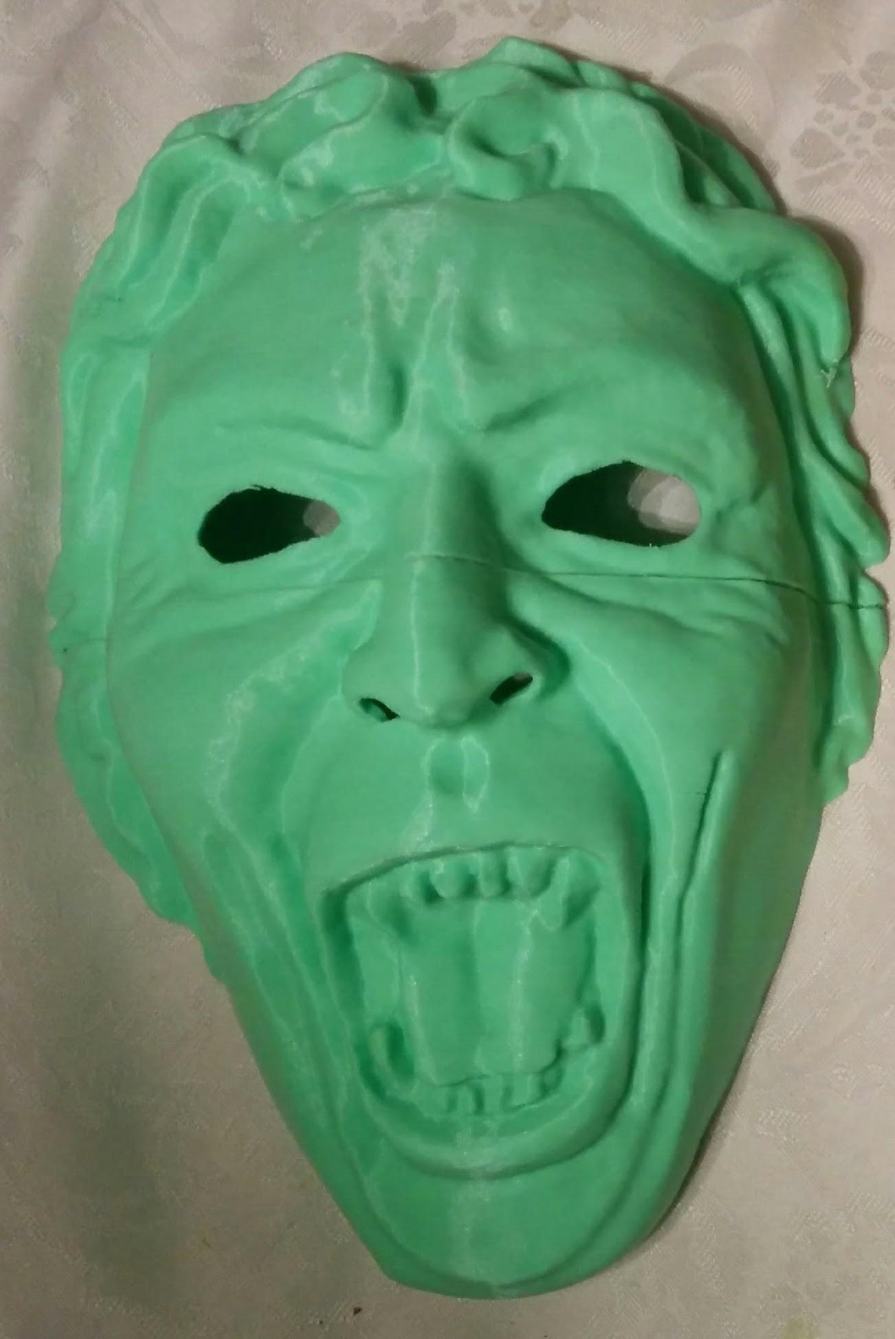 IMG_20180101_220101.jpg Download free STL file Weeping Angel Mask • 3D printer design, BenjaminKrygsheld