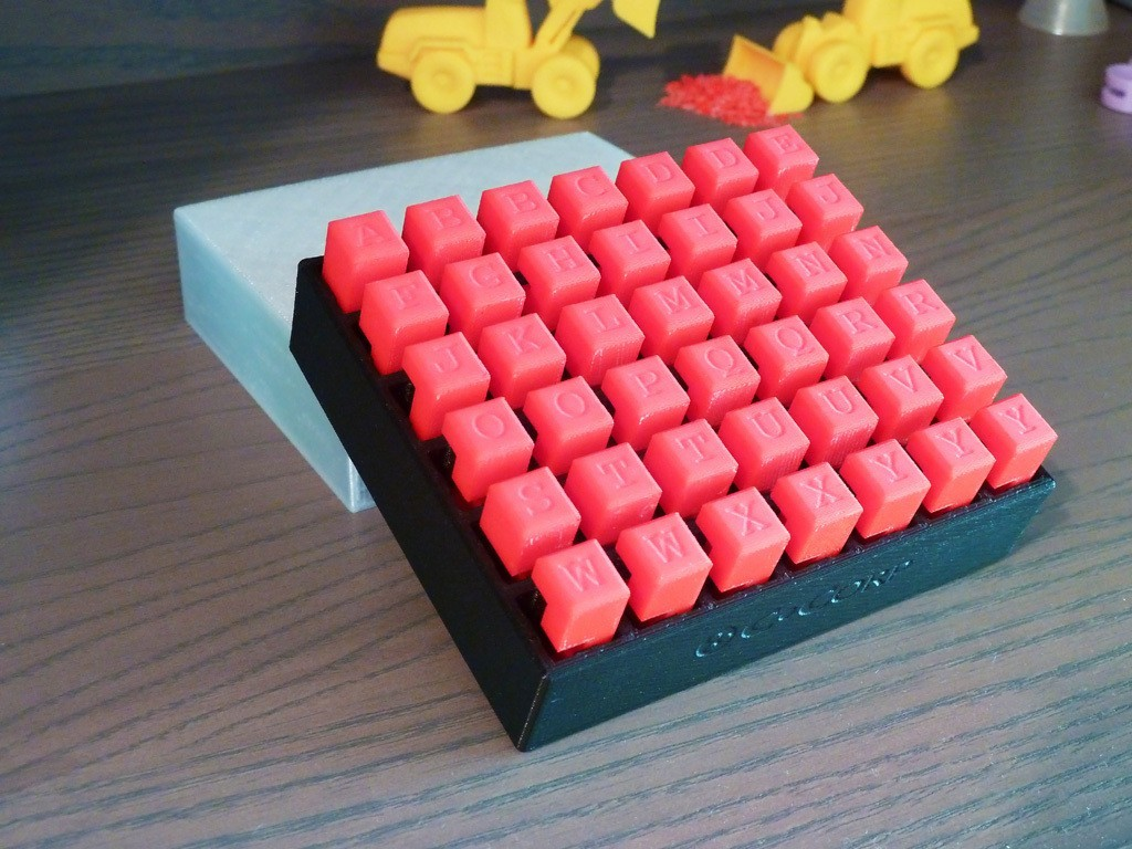 Burr_Coffret.jpg Download free STL file 6-Piece Burr Puzzle - Set of 42 pieces • 3D printable model, ChampystileCorp
