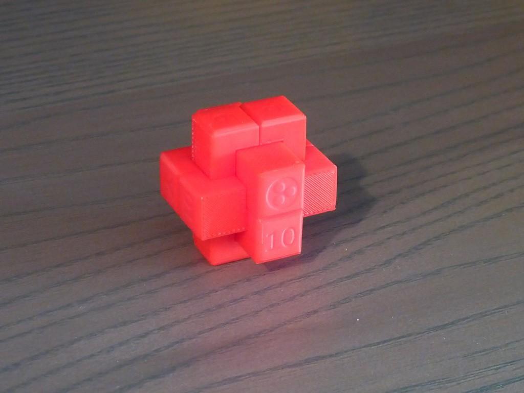 Burr_Assemble.jpg Download free STL file 6-Piece Burr Puzzle - Set of 42 pieces • 3D printable model, ChampystileCorp