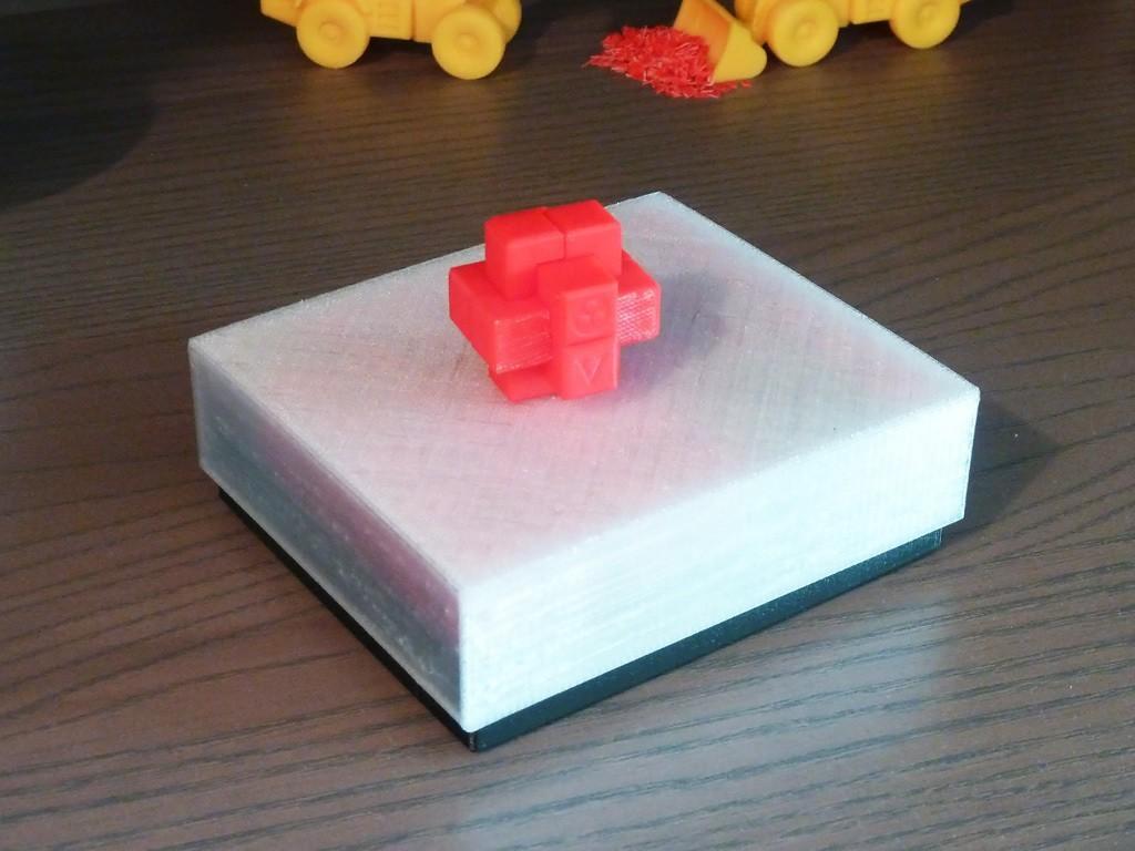 Burr_CoffretFerme.jpg Download free STL file 6-Piece Burr Puzzle - Set of 42 pieces • 3D printable model, ChampystileCorp
