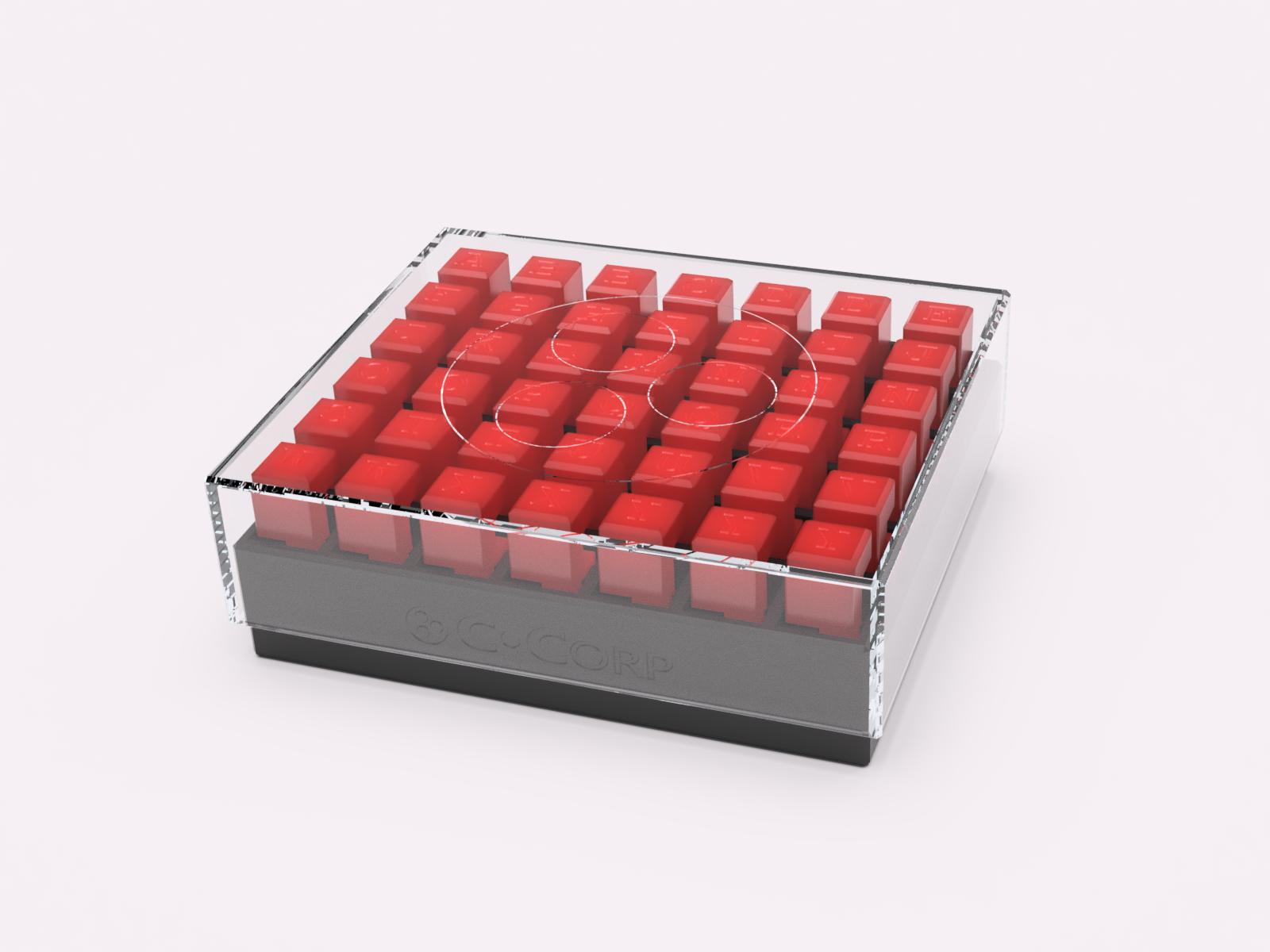 Burr_Render.png Download free STL file 6-Piece Burr Puzzle - Set of 42 pieces • 3D printable model, ChampystileCorp