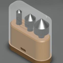 Free STL files Box with chamfering cutters, ChampystileCorp