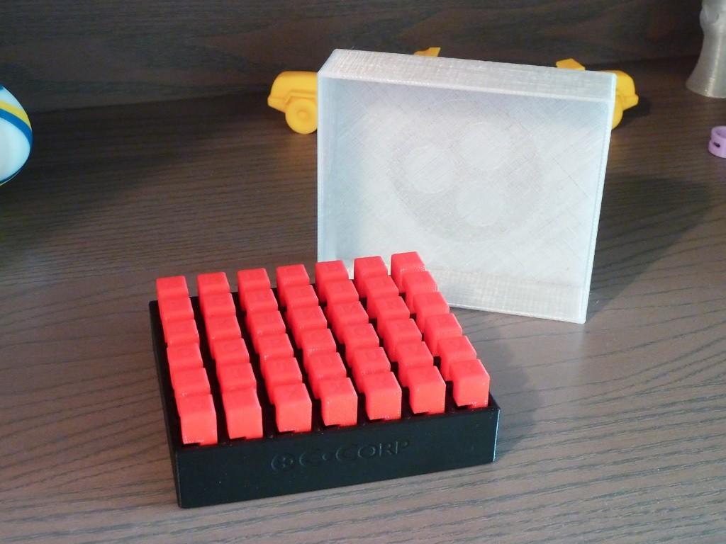 Burr_CoffretOuvert.jpg Download free STL file 6-Piece Burr Puzzle - Set of 42 pieces • 3D printable model, ChampystileCorp