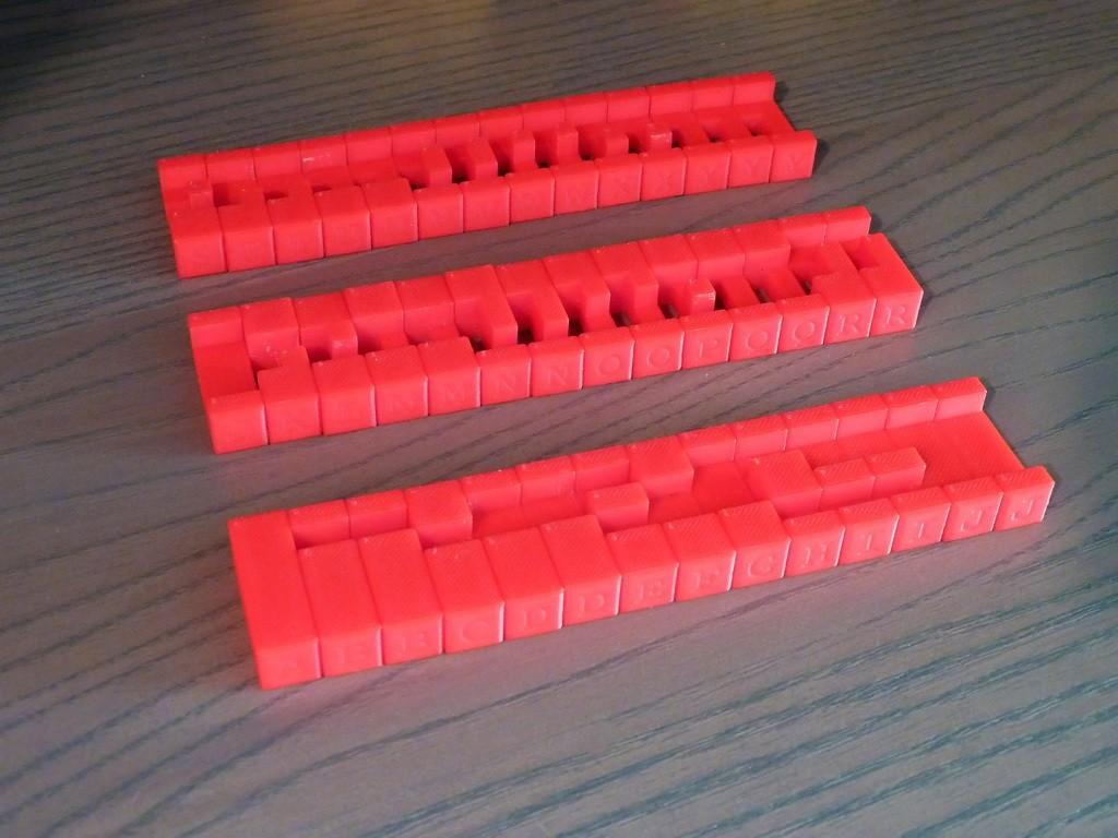 Burr_Pieces.jpg Download free STL file 6-Piece Burr Puzzle - Set of 42 pieces • 3D printable model, ChampystileCorp
