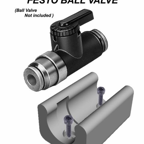Download STL file festo valve support • 3D printable design, MaxFlyerBresciani