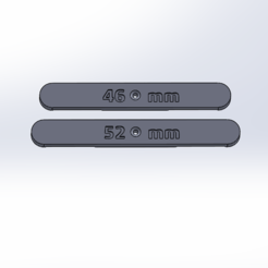 Descargar archivo 3D gratis Distancia entre vías HO, ViniTrain