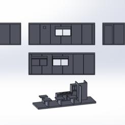 Download free 3D printer files Bungalow SNCF Ho, ViniTrain