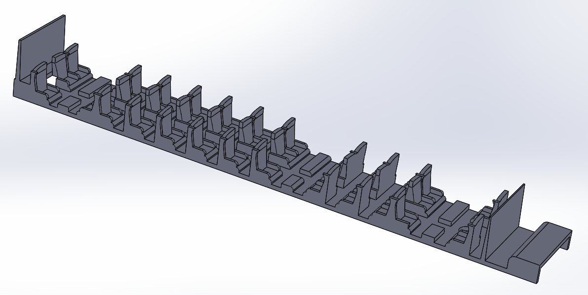TGV POs.PNG Download STL file Interior fittings TGV POS Jouef 1st class HO • 3D printable template, ViniTrain