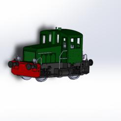 Descargar modelo 3D Locotractor Y2100 HO (DLC/SLA), ViniTrain