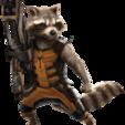 Download free STL file Raccoon Keyrings • 3D print design, Brahmabeej