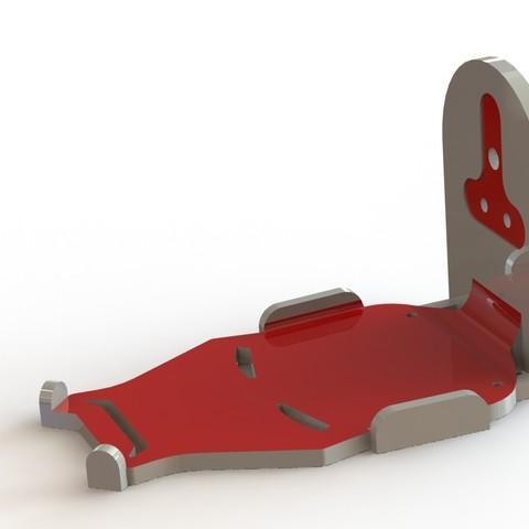 IronManCharger1.JPG Download free STL file Phone Holder • Model to 3D print, Brahmabeej