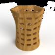 Download free STL file Pen Stand • Design to 3D print, Brahmabeej