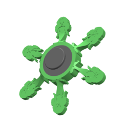Download free 3D printer files Fidget Spinner, Brahmabeej