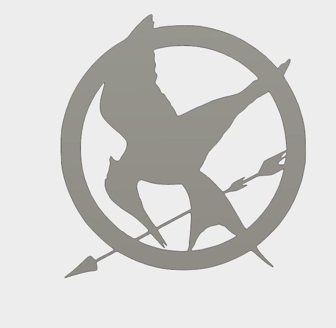 MJ_coster_1.JPG Download free STL file Mockingjay Coster • 3D printing template, Brahmabeej