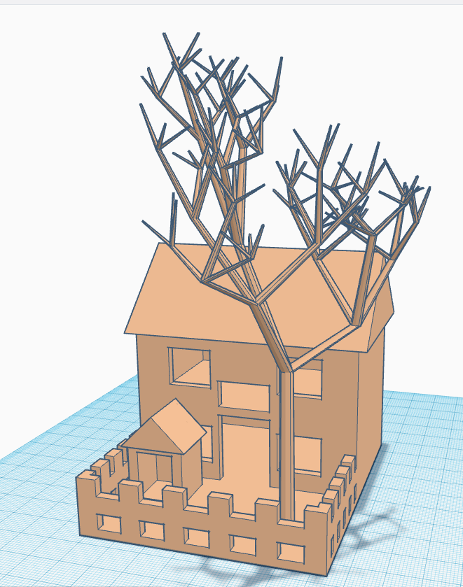 h1.PNG Download free STL file House Model • 3D print design, Brahmabeej