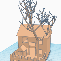 Free STL file House Model, Brahmabeej