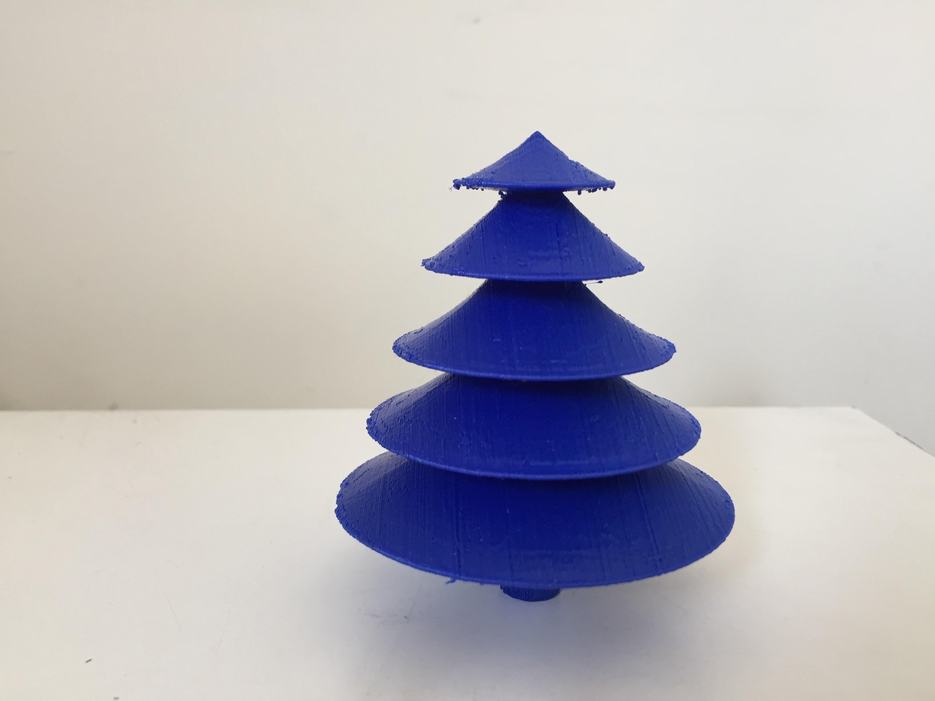 IMG_1050.JPG Download free STL file Table top Christmas tree • 3D printing object, Brahmabeej