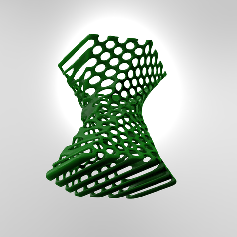 pen stand2.4.png Download free STL file Pen stand Organic  • 3D printing template, Brahmabeej