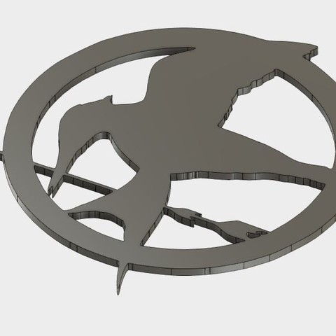MJ_coster_2.JPG Download free STL file Mockingjay Coster • 3D printing template, Brahmabeej