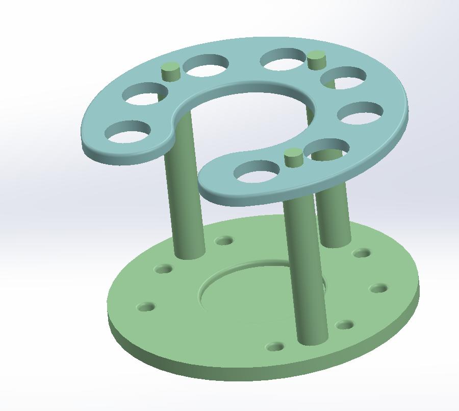 Pen Stand.PNG Télécharger fichier STL gratuit Support de stylo • Modèle pour imprimante 3D, Brahmabeej