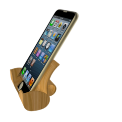 Modelos 3D para imprimir gratis Estación de acoplamiento de Iphone, Brahmabeej