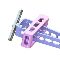 Impresiones 3D gratis Avion de juguete, Brahmabeej