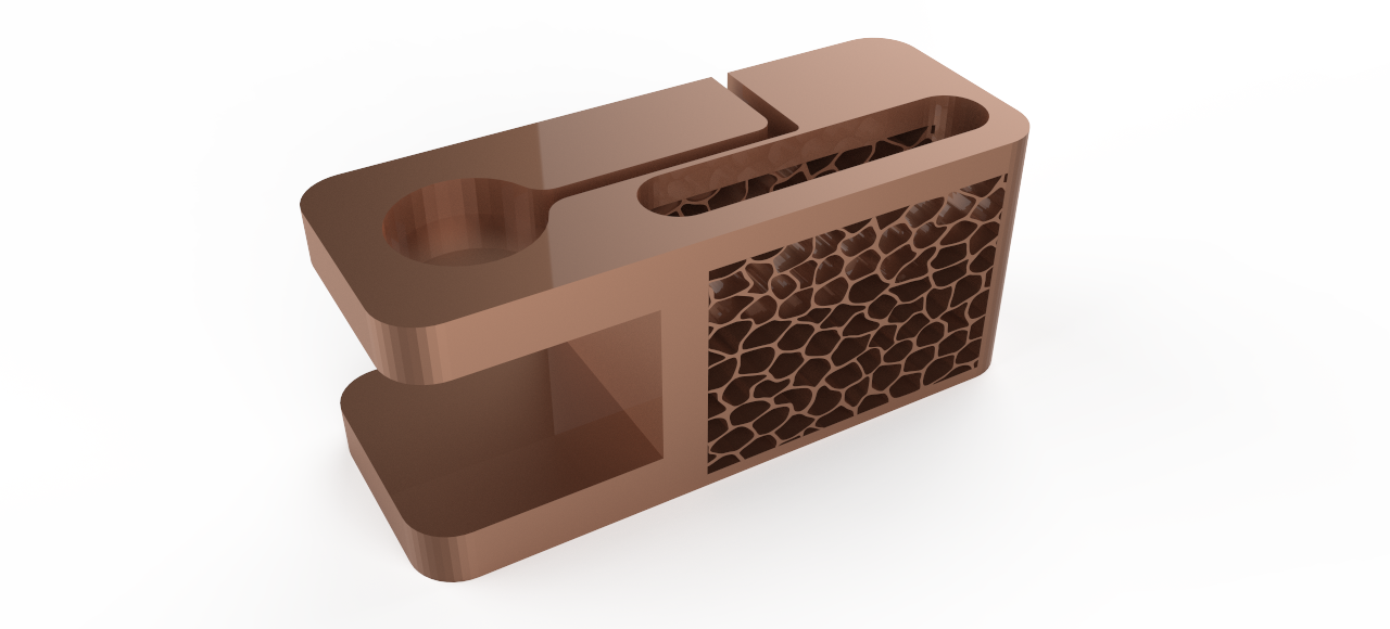 untitled.23.png Download free STL file Iphone Docking Station with apple watch charging station • 3D print template, Brahmabeej