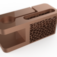 Download free 3D model Iphone Docking Station with apple watch charging station, Brahmabeej