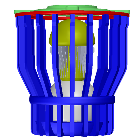 Free Arc reactor Lamp 3D model, Brahmabeej
