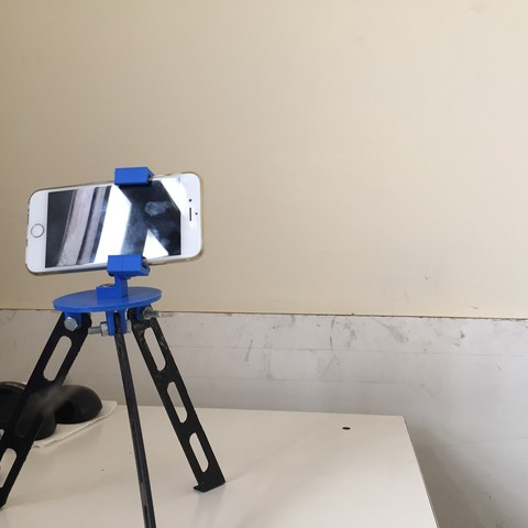 Download free 3D printing templates Tripod for iphone and go pro, Brahmabeej