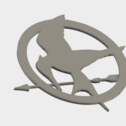 MJ_coster_4.JPG Download free STL file Mockingjay Coster • 3D printing template, Brahmabeej