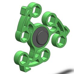 BFS_1.JPG Download free STL file Bike fidget spinner  • Design to 3D print, Brahmabeej