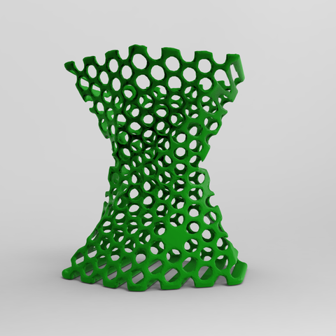 pen stand2.3.png Download free STL file Pen stand Organic  • 3D printing template, Brahmabeej
