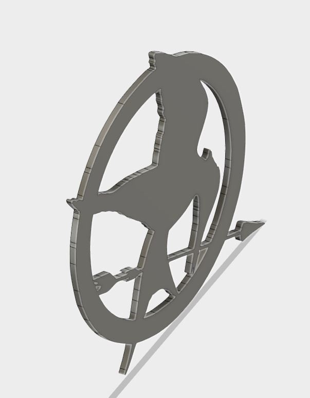 MJ_coster_6.JPG Download free STL file Mockingjay Coster • 3D printing template, Brahmabeej