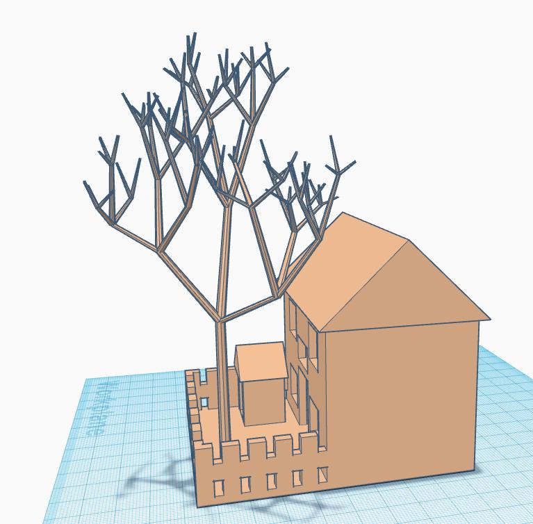 h2.PNG Download free STL file House Model • 3D print design, Brahmabeej