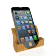 Free 3D printer file Iphone Docking Station, Brahmabeej