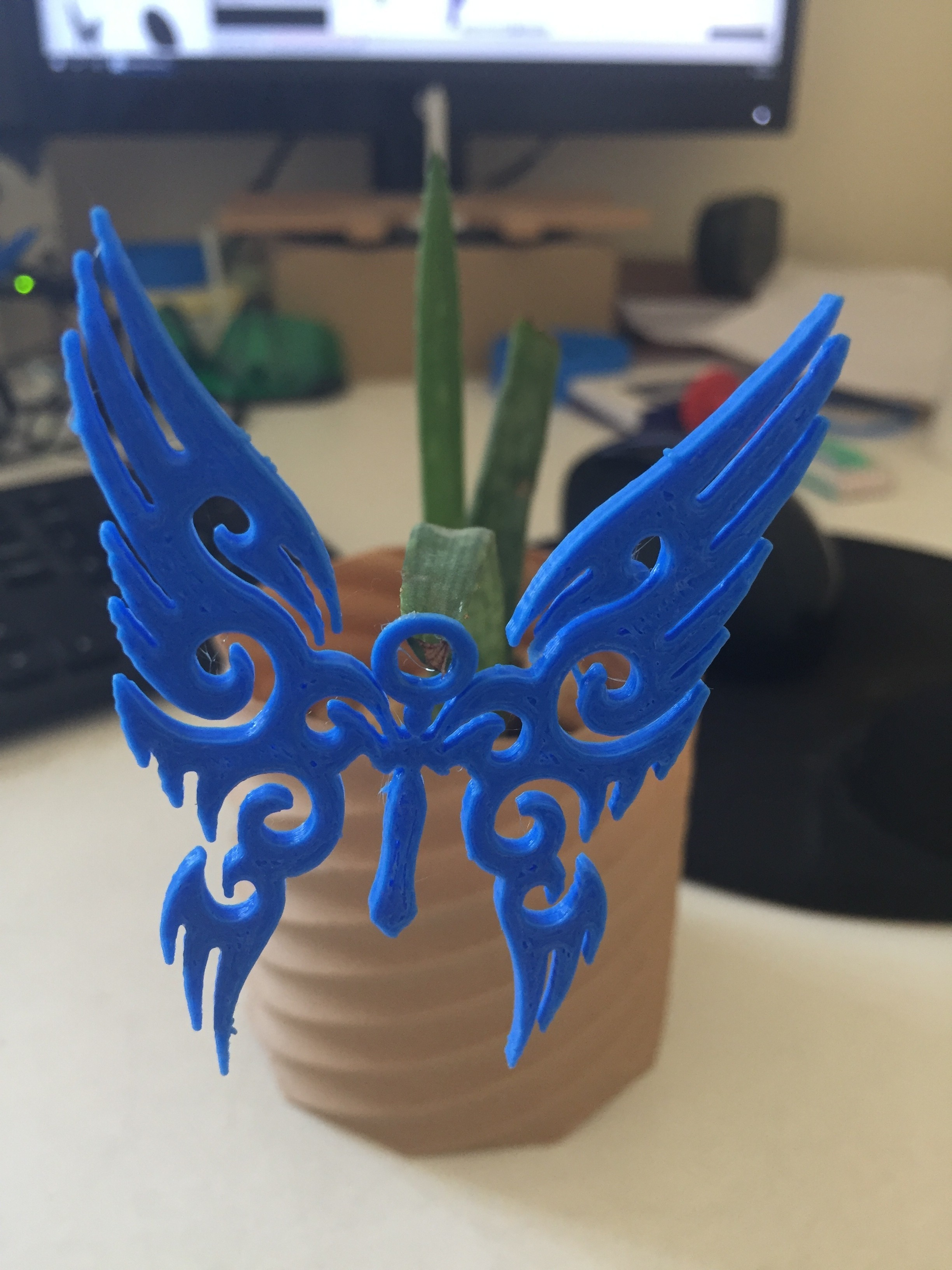 20171207_080307837_iOS.jpg Download STL file Pendant • Template to 3D print, Brahmabeej
