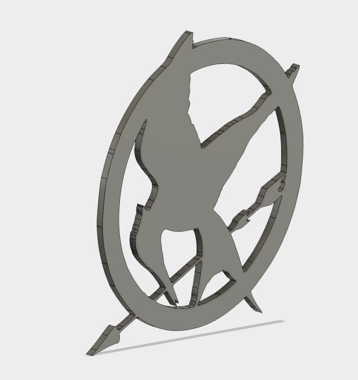 MJ_coster_3.JPG Download free STL file Mockingjay Coster • 3D printing template, Brahmabeej