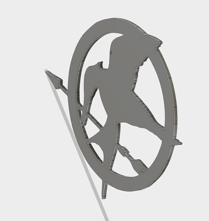 MJ_coster_5.JPG Download free STL file Mockingjay Coster • 3D printing template, Brahmabeej